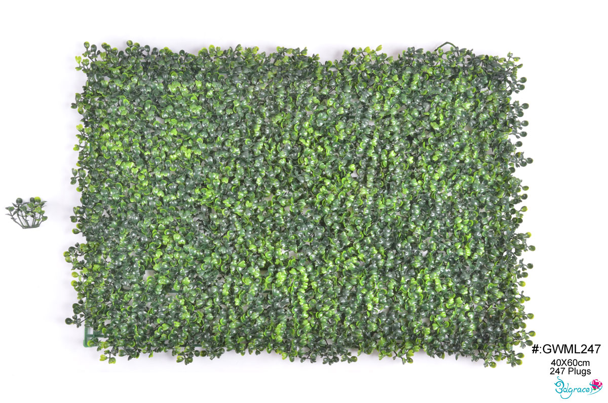 GW Artificial Green Wall  GWML247 And GWML308  Green
