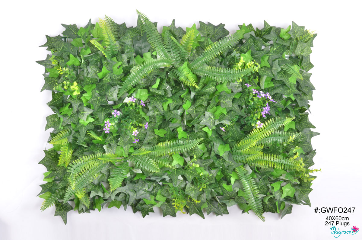 GW Artificial Green Wall GWFO247 Green